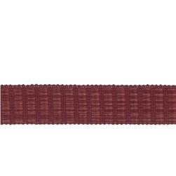 "Fabricut 1.5"" Winnowing Trim Pomegranate"