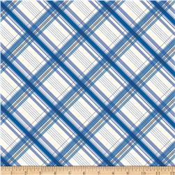 Riley Blake British Invasion Plaid Blue