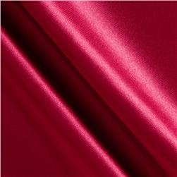 Costume Satin Cranberry