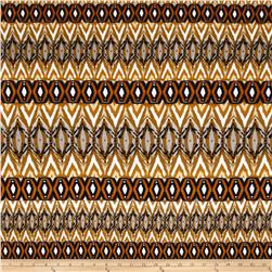 Ponte de Roma Chevron and GeoDiamonds Mustard