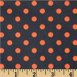 Michael Miller Neon Dot Laminate Ozone Fabric