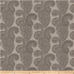 Trend 03105 Chenille Shell Paisley Silver