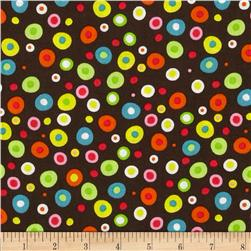 Rhymbee Dots Brown