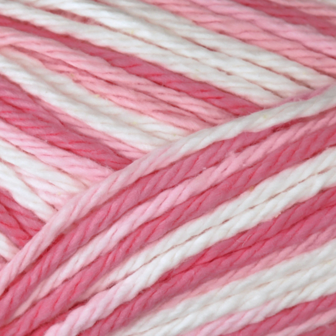 Peaches & Creme Ombre Yarn (02416) Rose is