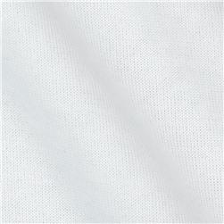 Cotton Blend Micro Terry Cloth White