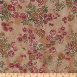 Jonquil Shirting Floral Antique Rose/Sage