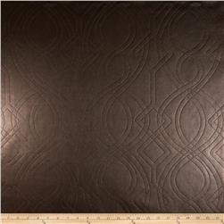 Richloom Faux Leather Graham Chocolate