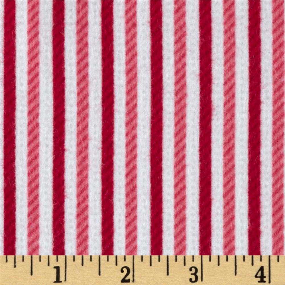 Riley Blake Home for the Holidays Flannel Stripe