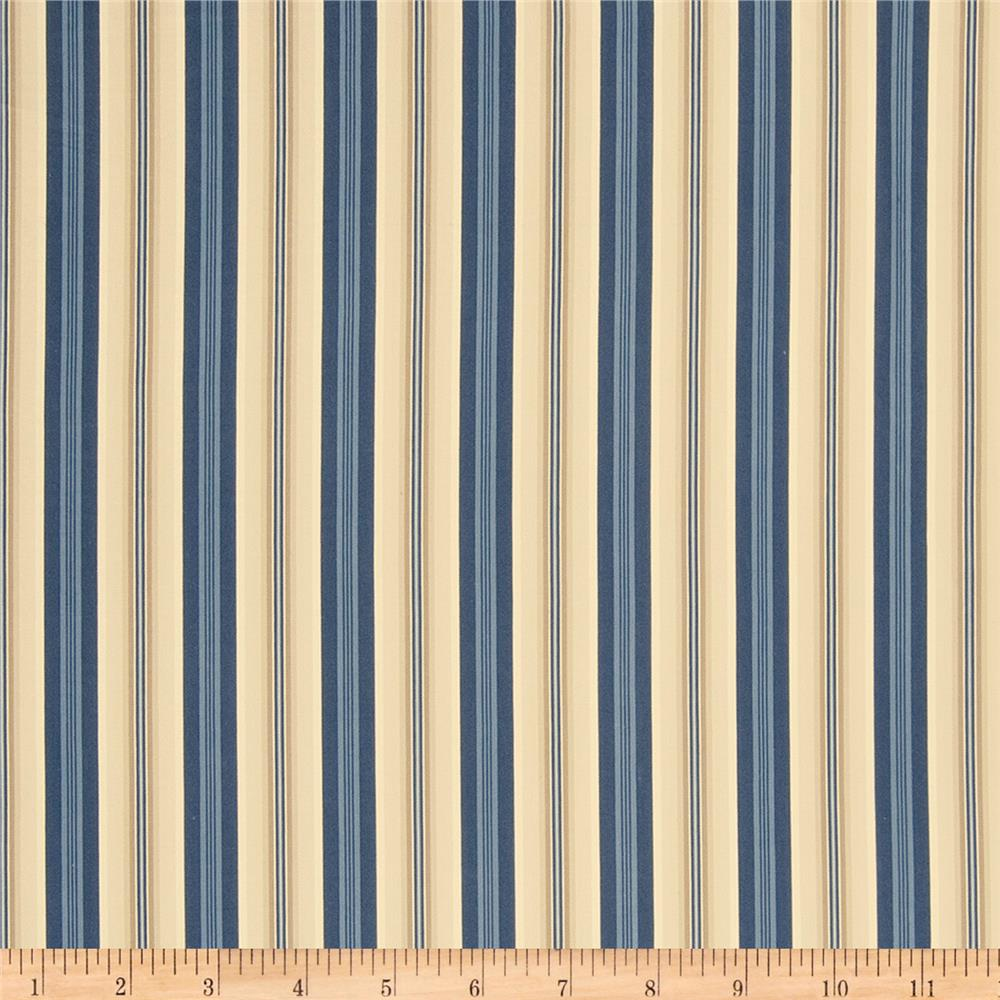 French General Colmar Stripe Indigo