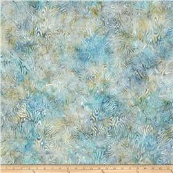 Batavian Batiks Rippled Reflections Gray/Blue