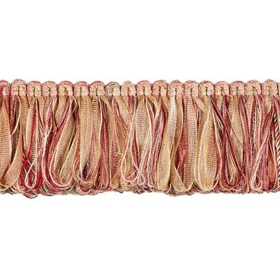 "Fabricut 2"" Rejuvenation Loop Fringe Melon"