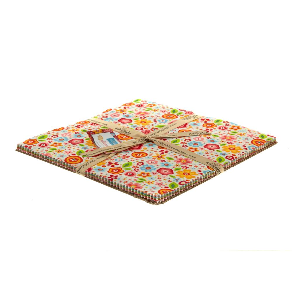 "Riley Blake My Sunshine 10"" Layer Cake Multi"