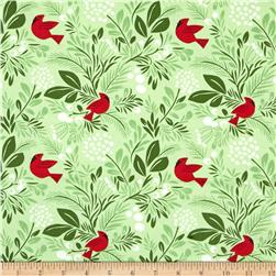 Moda Jingle Birds & Berries Cedar