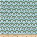 Riley Blake Bittersweet Chevron Blue