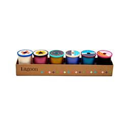 Cotton + Steel 50wt. Cotton Thread Set by Sulky Lagoon Collection