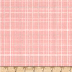 Maribel Fine Line Plaid Pink