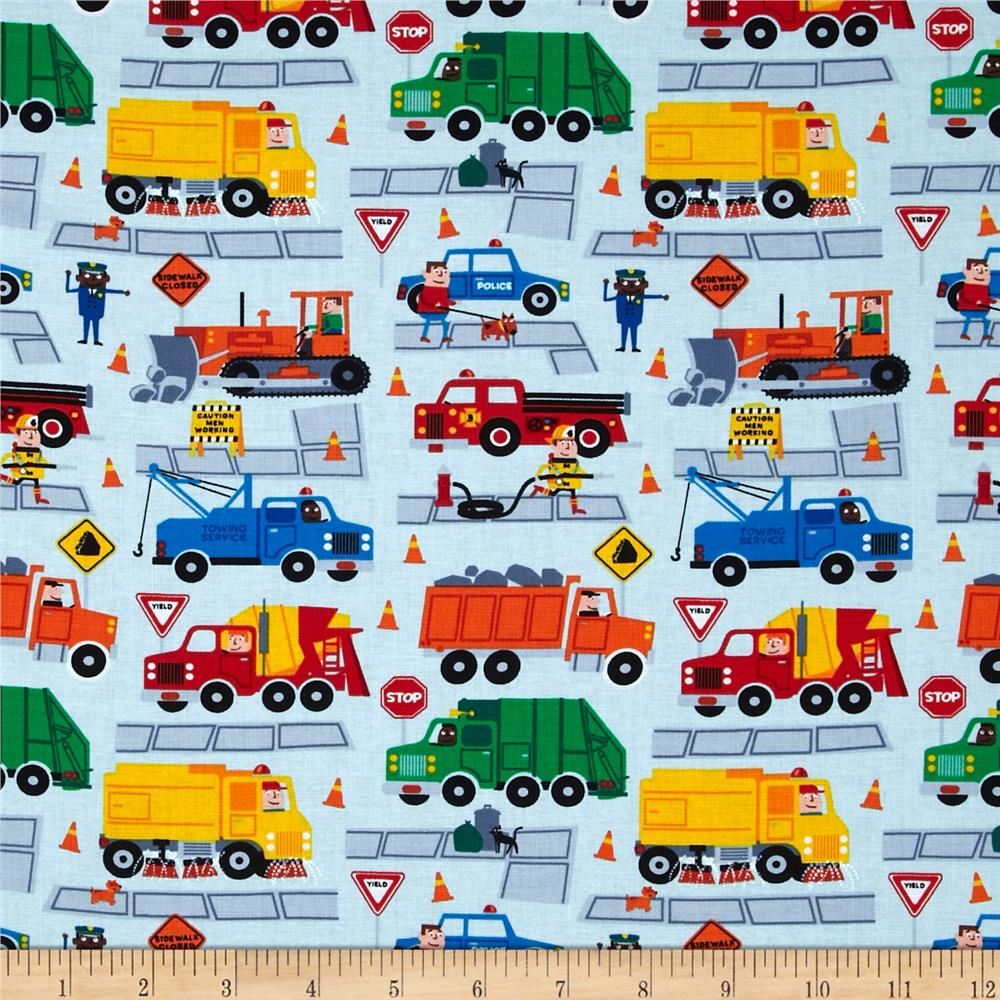 Fabric for boys at for Train themed fabric