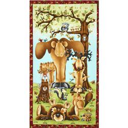 Clearwater Critters Panel Red
