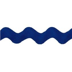 1'' Ric Rac Polyester Large Trim Royal Blue