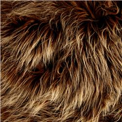 Luxury Faux Fur Monster Amber Frost