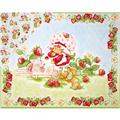 Strawberry Shortcake Classic Double Sided Panel Pink