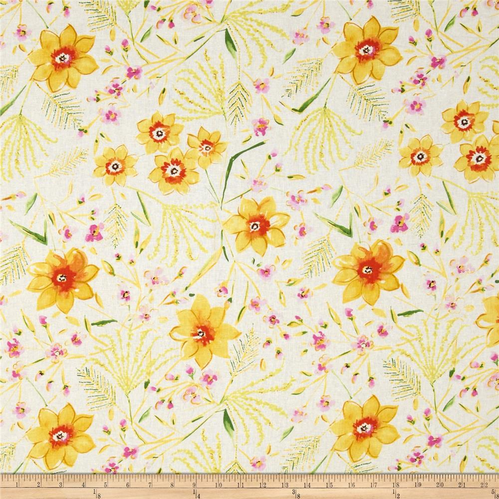 Dena Designs Sunshine Linen Blend Jasmine White