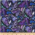 Butterfly Garden Purple