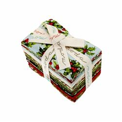 Moda Season's Greetings Fat Eighths Assortment