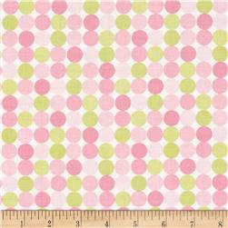 Riley Blake Sweet Baby Girl Sweet Dots Pink