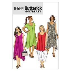 Butterick Misses'/Women's Top, Dress and Pants Pattern B5655 Size B50