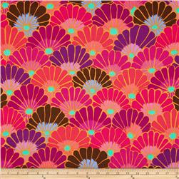 Kaffe Fassett Collective Thousand Flowers Red
