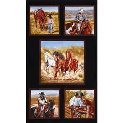 Happy Trails Panel Black