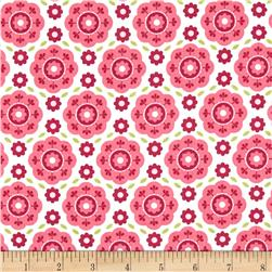 Riley Blake Summer Song 2 Floral Pink