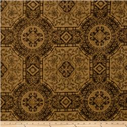 Lillian August Chadwick Linen Chocolate