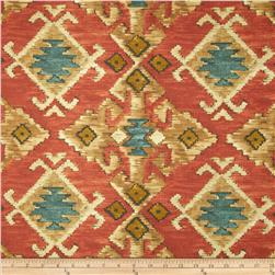 Swavelle/Mill Creek Yurta Tapestry Firecracker Red