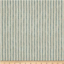 Magnolia Home Fashions Skyfall Stripe Ocean Fabric