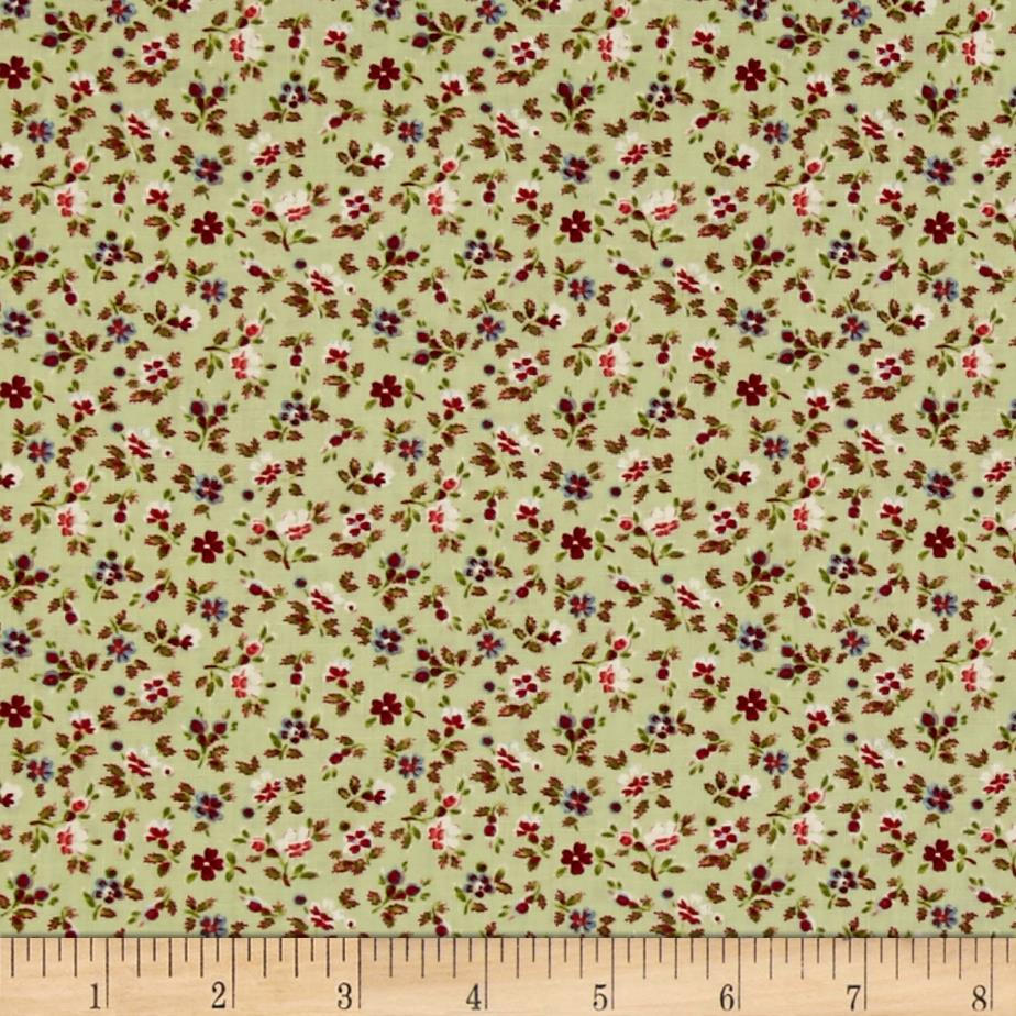 Home Sweet Home Mini Floral Green