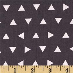 Robert Kaufman Remix Triangles Scatter Grey