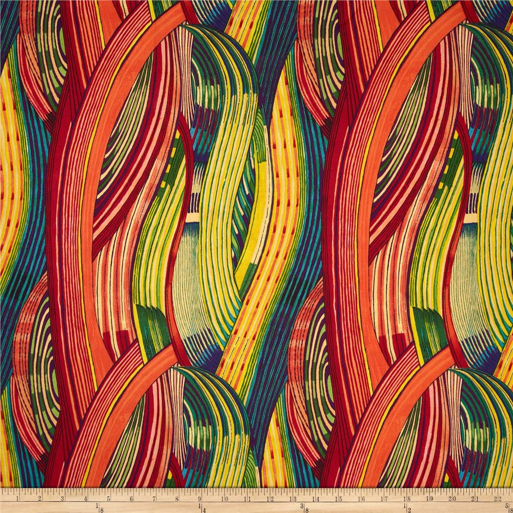 Africa Mashama Stripe Red
