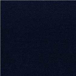 Stretch Rayon Bamboo French Terry Knit Dark Blue