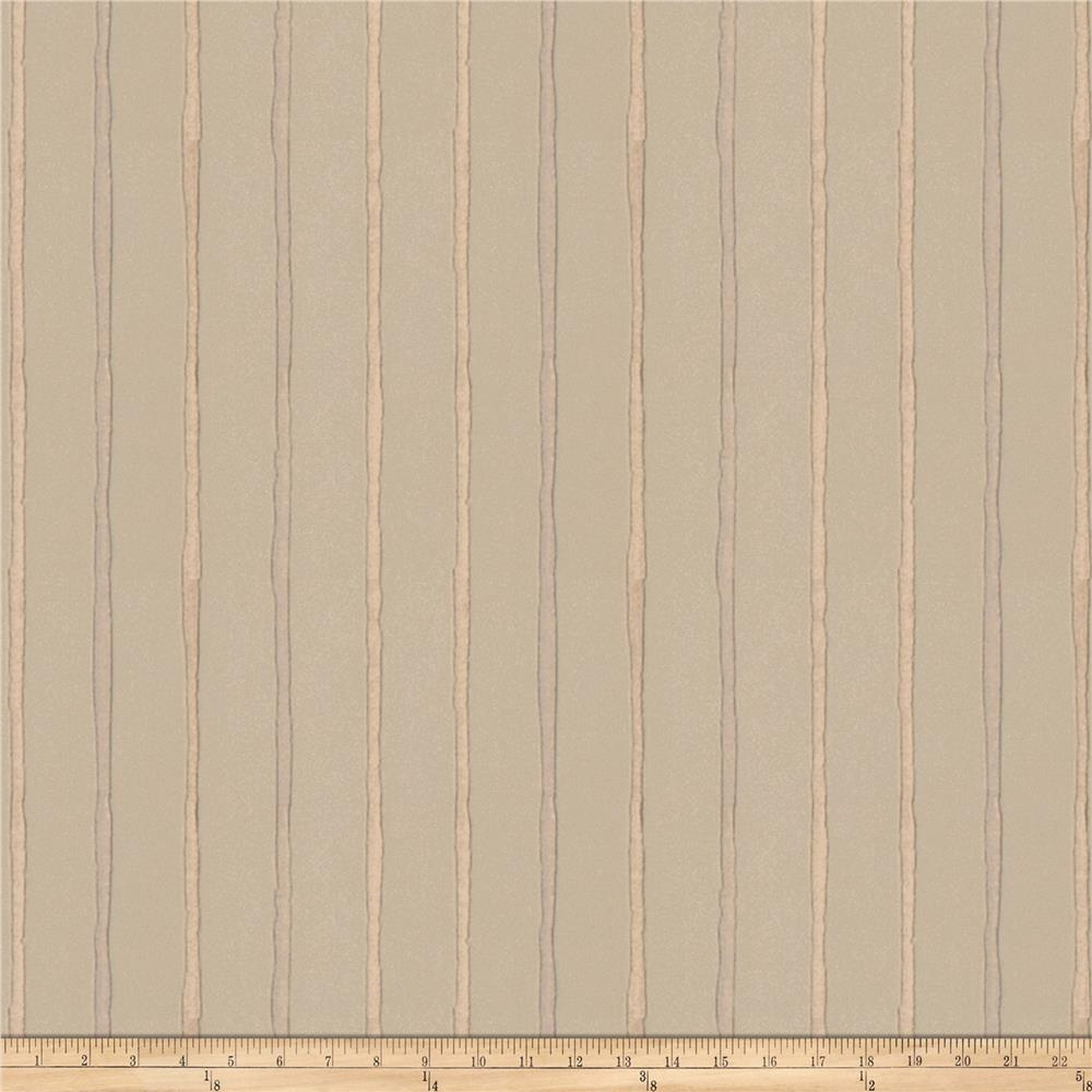 Fabricut Epicurean Stripe Faux Silk Stucco