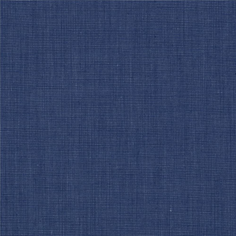 Cotton Blend Shirting Periwinkle Blue