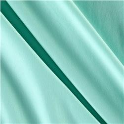 Swimwear Knit Solid Seafoam