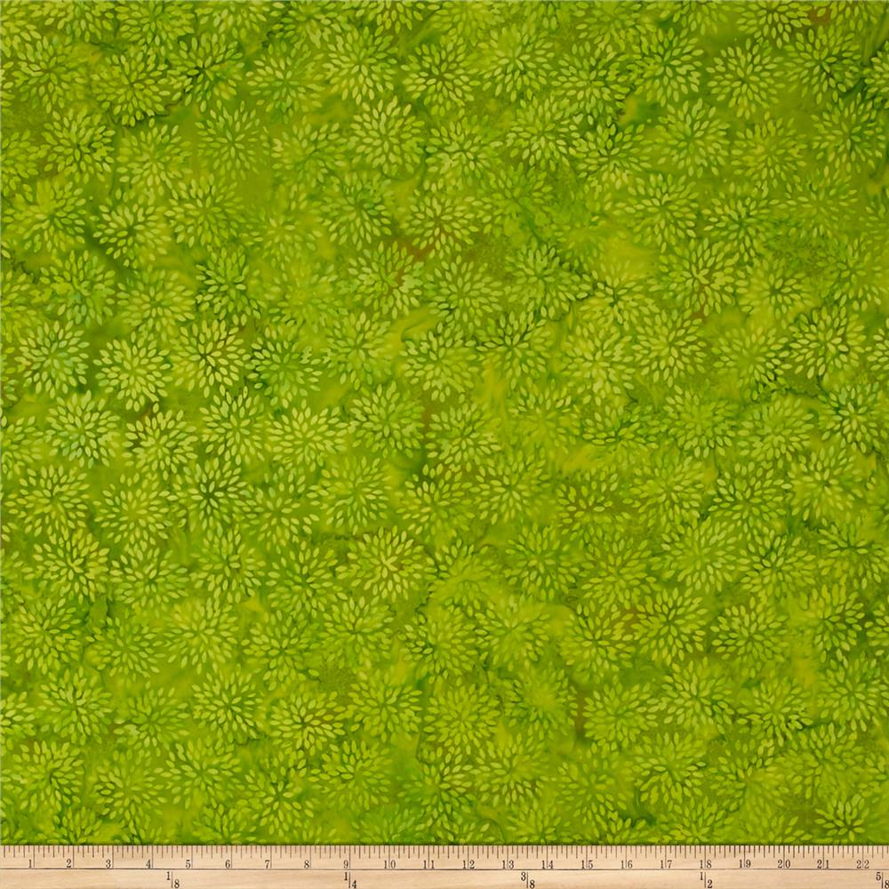 Island Batik Mum Light Green