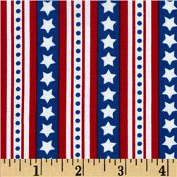 Freedom Star Stripes Americana Blue
