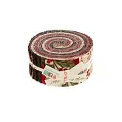 Moda Let it Glow Metallic 2.5 In. Jelly Roll Multi