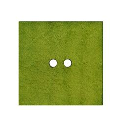 2'' Leather Button Square  Green