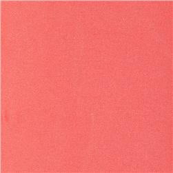 Viscose Twill Coral Orange Fabric