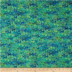Rhapsody In Blue Metallic Mineral Magic Blue/Lime