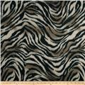 Skin Fleece Print Tiger Tan/Black